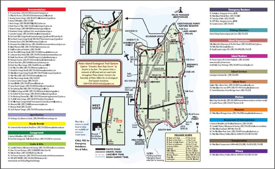 Pelee Island Map Gallery | Pelee Island