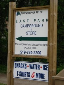 campground store sign